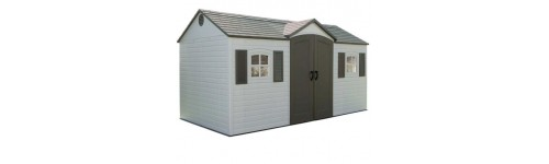 Lifetime 15 Foot Wide Plastic Shed Kits Kitsuperstore Com