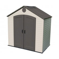 Lifetime 8x5 Plastic Storage Shed Kit (6418)
