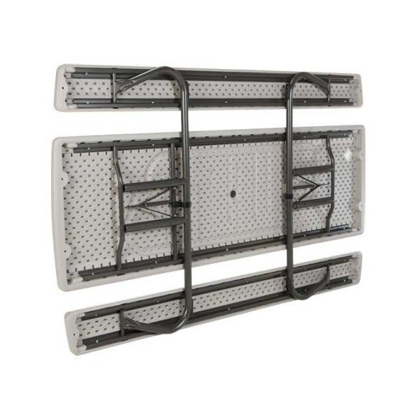 Lifetime 8 Ft Plastic Folding Picnic Table Putty 80123