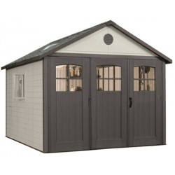 Lifetime 11x11 ft Storage Shed Kit with Tri-Fold Doors (60187)