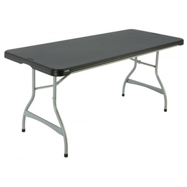 Admirable Lifetime 6 Ft Stacking Tables And Chairs Combo Black 80439 Spiritservingveterans Wood Chair Design Ideas Spiritservingveteransorg