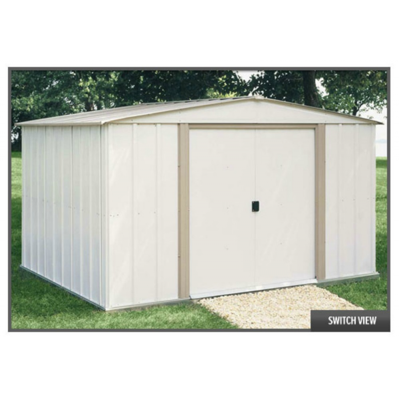 Salem 10x8 Arrow Metal Storage Shed (SA108)