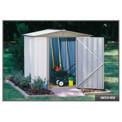 Arrow Sentry 6x5 Metal Storage Shed Kit (SY65)
