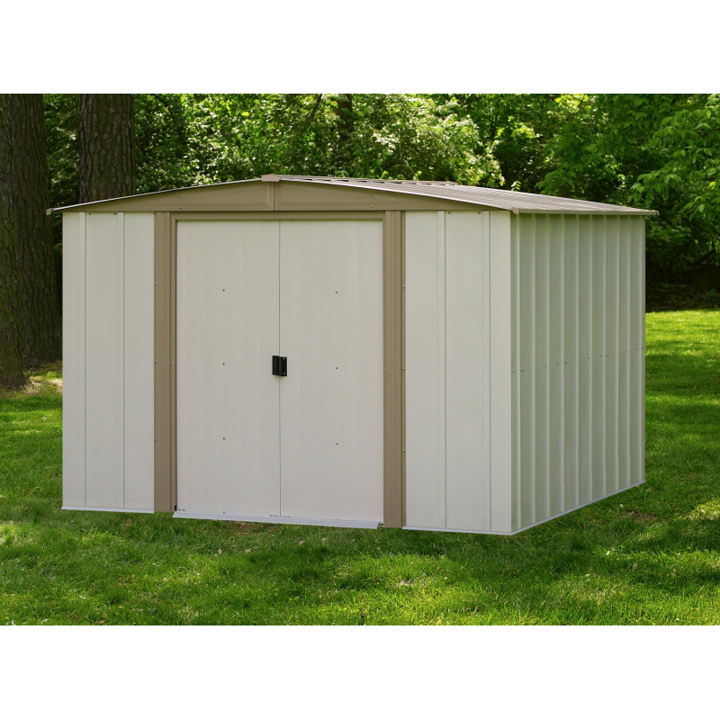 Arrow 8x8 Bedford Metal Storage Shed Kit (ASIBD88)