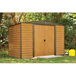 Arrow 10x6 Euro Dallas Metal Storage Shed Kit (ED106 / WR106)