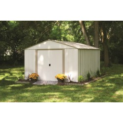 Arrow 10x14 Oakbrook Steel Storage Shed Kit (OB1014)