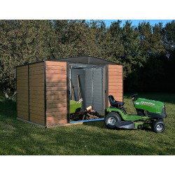 Arrow 10x8 Euro Dallas Woodridge Metal Storage Shed Kit (WR108