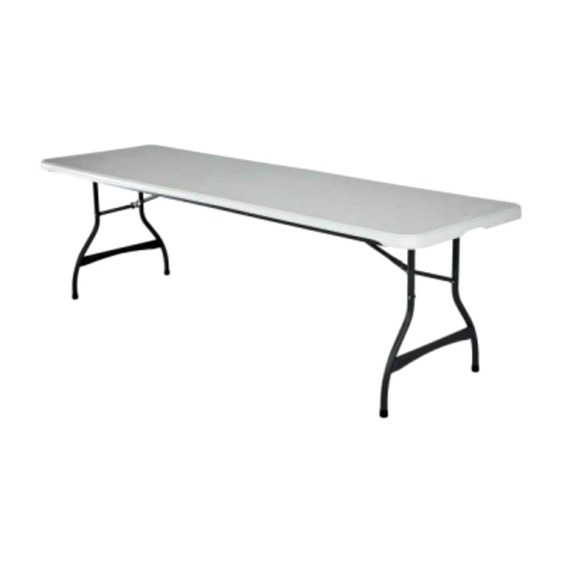 Lifetime 4-pack Commercial Stacking 8 Ft Folding Table - White (80344)