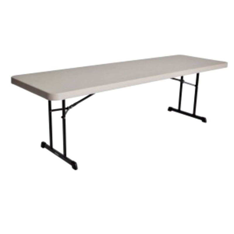 Lifetime 8 ft. Professional Folding Table (Putty) 80127
