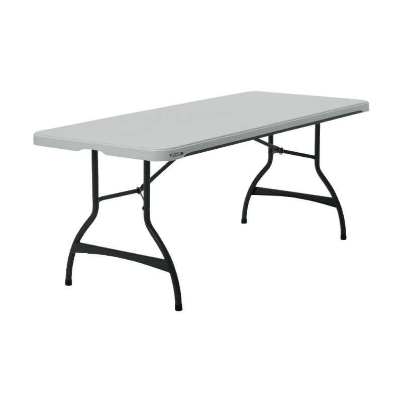 Lifetime 6ft Commercial Stacking Folding Table - White (880272)