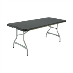 Lifetime 6ft Commercial Stacking Folding Table - Black (880350)