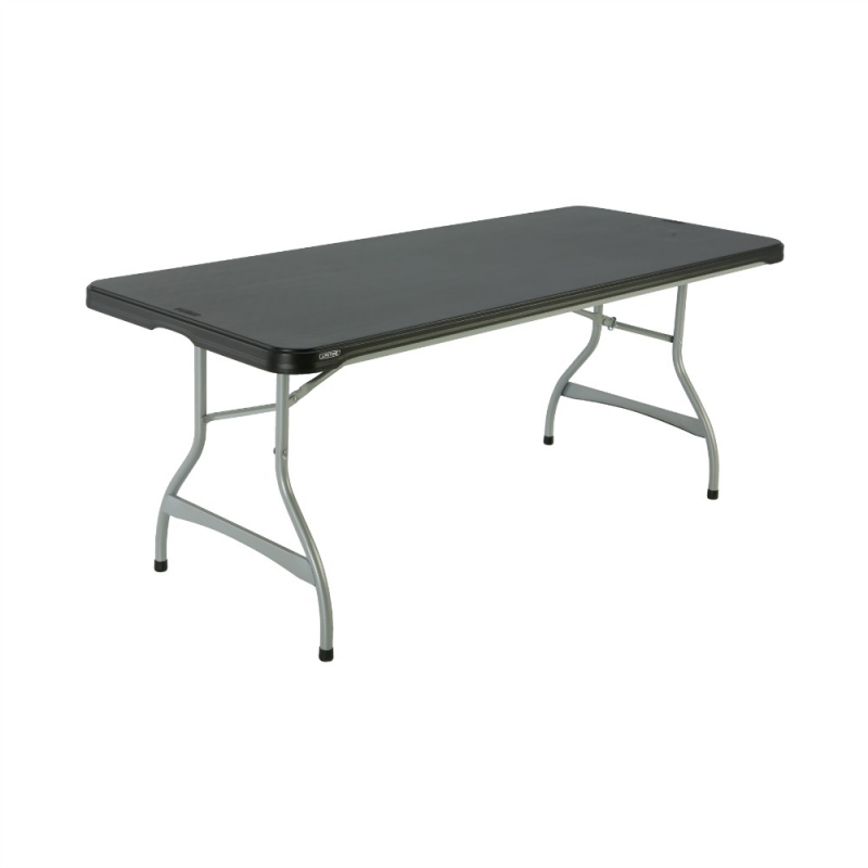 Lifetime 6ft Commercial Stacking Folding Table - Black (880350)