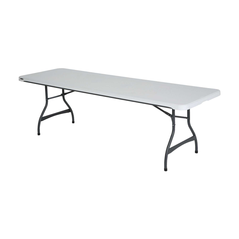 Lifetime 8ft Commercial Stacking Folding Table - White (880299)