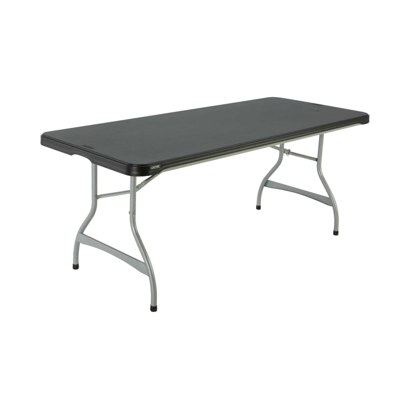 Lifetime 6ft Commercial Stacking Folding Table - Black (280350)