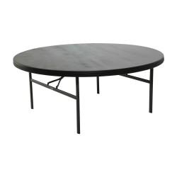 Lifetime 12-Pack Commercial 72 inch Round Table - Black (880403)
