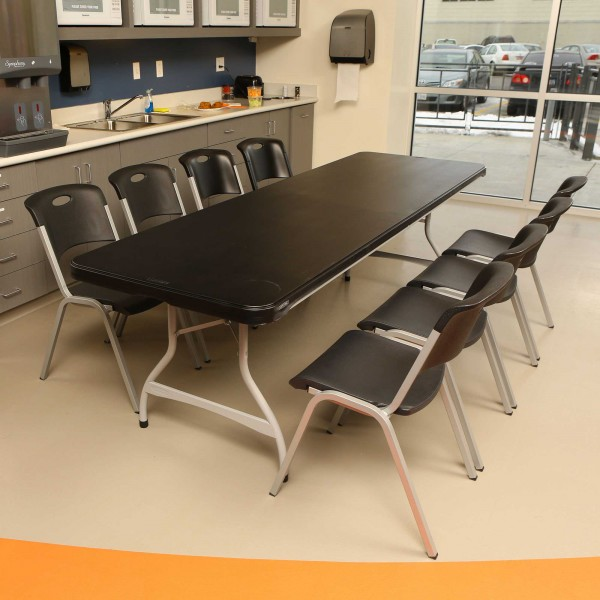 8ft Folding Table Awesome Office Star Work Smart Piece