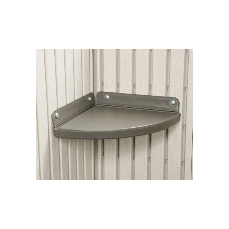 Lifetime 2 Corner Shelf Storage Shed Accessory Kit 0110