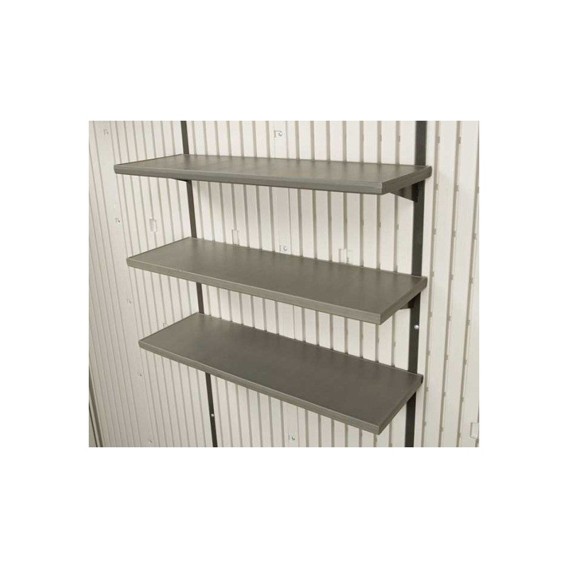 Lifetime 3 Piece 30 in. Shelf Storage Shed Accessory Kit 0130