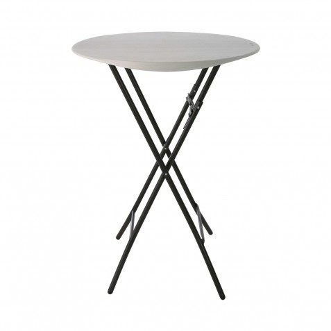 Lifetime 33-Inch Round Bistro Table - Almond (80362)
