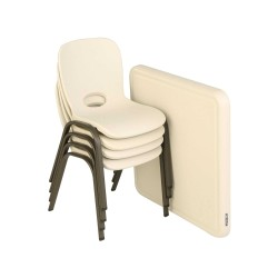 Lifetime Children's Table and Chairs Combo (80437)