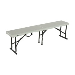 Lifetime 5 Ft Portable Fold-In-Half Bench (80503)