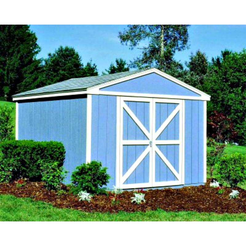 Handy Home Somerset 10x8 Wood Storage Shed Kit (18501-4)