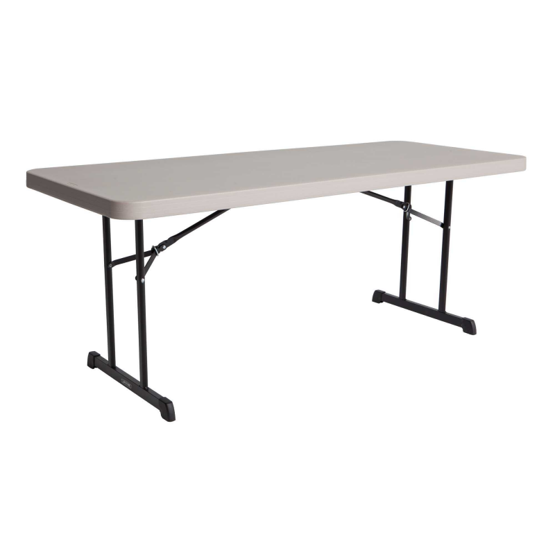 Lifetime 4-pack 6 ft Professional Grade Folding Tables - Putty (480126)