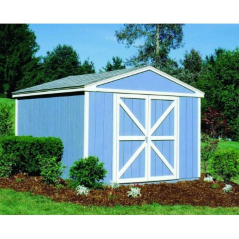 Handy Home Somerset 10x12 Wood Storage Shed w/ Floor (18504-5)