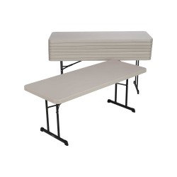 Lifetime 18-pack 6ft Professional Folding Tables - Putty (880126)