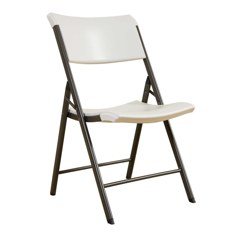 Lifetime 4-pack Commercial Contemporary Folding Chairs - Almond (480372)