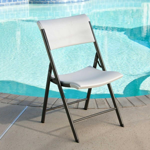 Lifetime 4 Pack Commercial Contemporary Folding Chairs