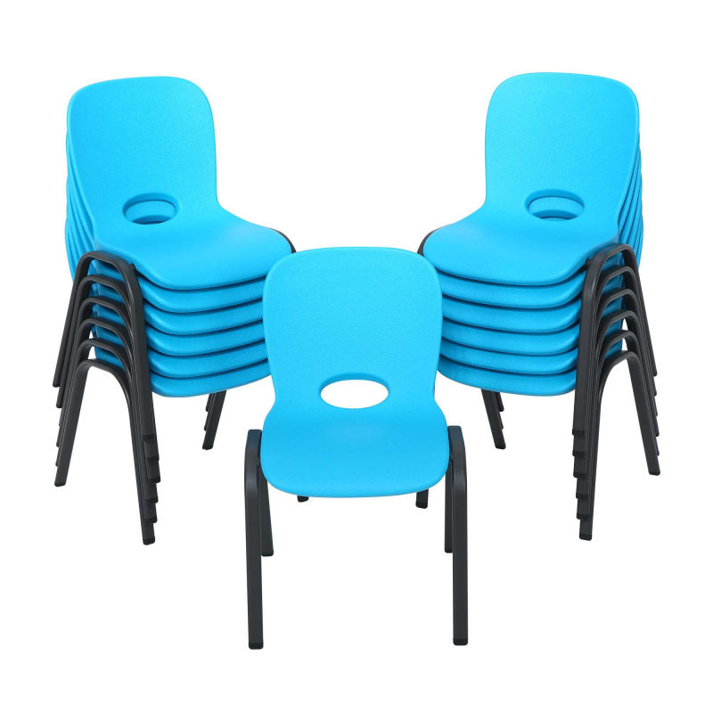 Lifetime 13 pack Contemporary Children s Stacking Chairs