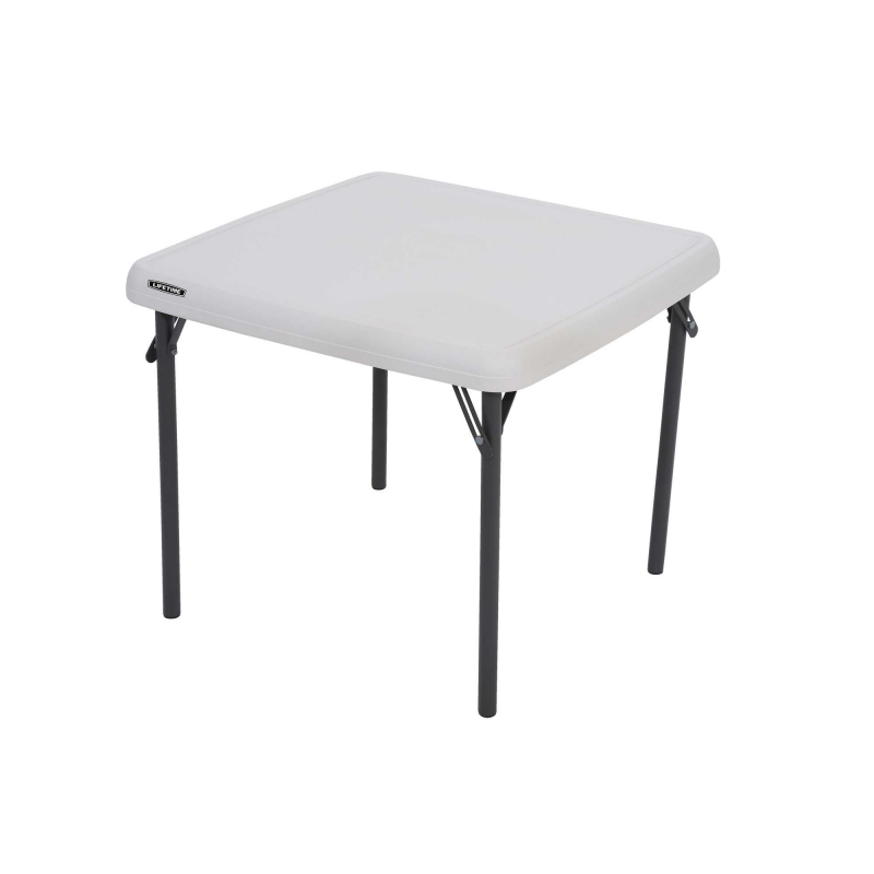 Lifetime Children's Square 24 inch Folding Table - Almond (80425)