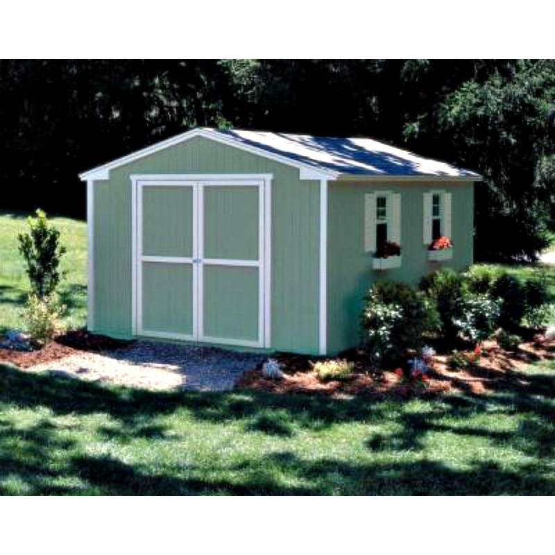 Handy Home Cumberland 10x12 Wood Storage Shed Kit (18283-9)