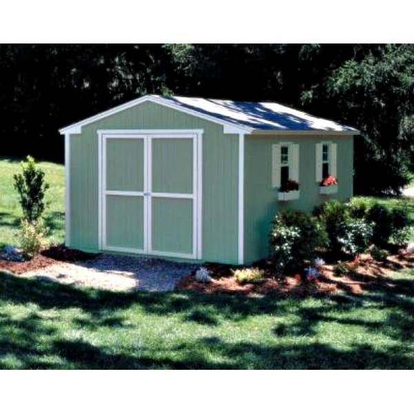 Handy Home Cumberland 10x12 Wood Storage Shed Kit 18283 9