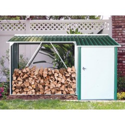 Duramax Woodstore Metal Combo Steel Shed Kit - Green (53661)
