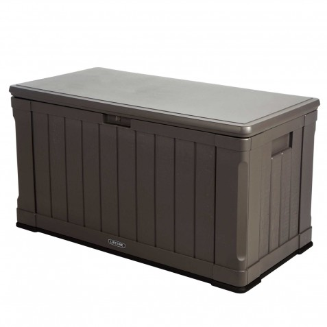 Lifetime 116 Gallon Outdoor Storage Box (60089)