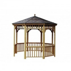 Handy Home 12ft. diameter San Marino Round Gazebo (19948-6)