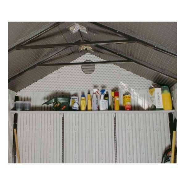 Lifetime 90 Inch Shelf Accessory Kit For 8 Ft Sheds 0150