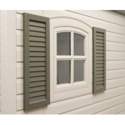 Lifetime Shed Shutters Accessory Kit for 8 ft and 11 ft Sheds 0111