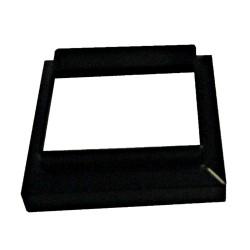 Classy Caps 3x3 Adaptor Imperial Aluminum - Black (SL083B)