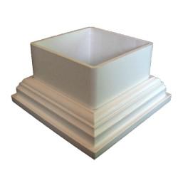 Classy Caps 5x5 Classy PVC Adaptor - White (CC055A)