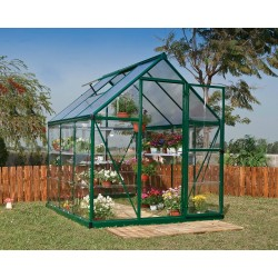 Palram Hybrid 6x6 Greenhouse Kit - Green (HG5506G)