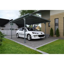 Palram Verona Carport Kit - Gray (HG9135)