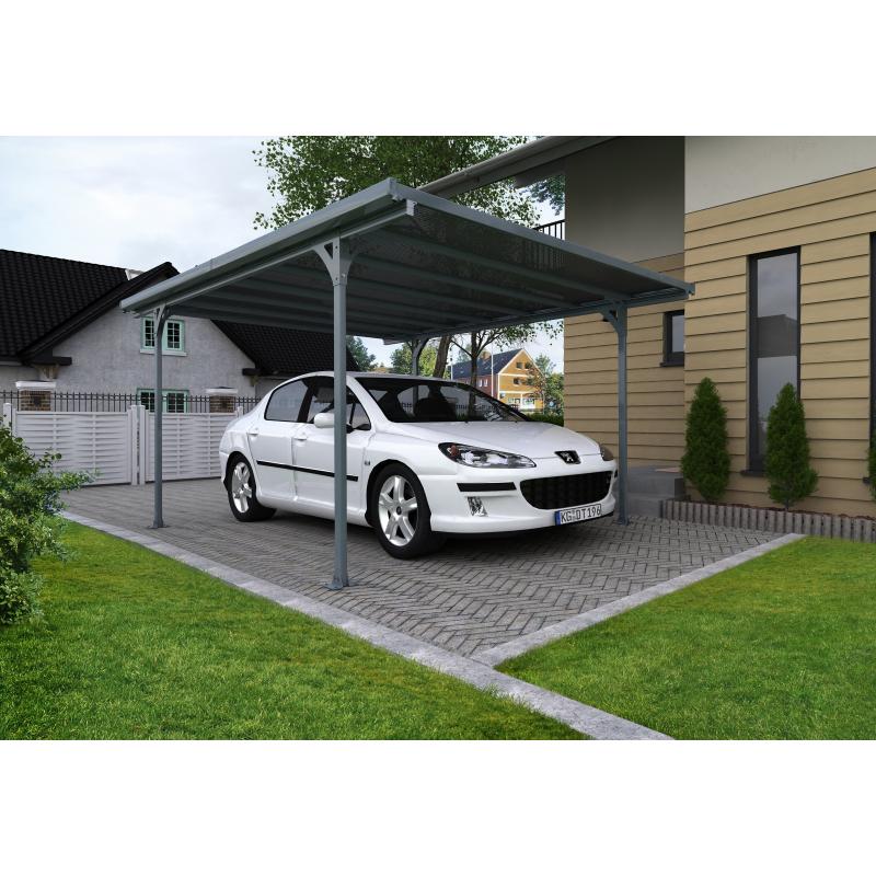 Palram Verona Carport Kit - Gray (HG9135)