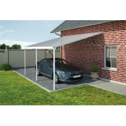 Palram 13x20 Feria Carport Kit - White (HG9140)