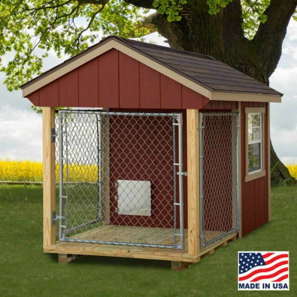 Dog Run Kennel Kit