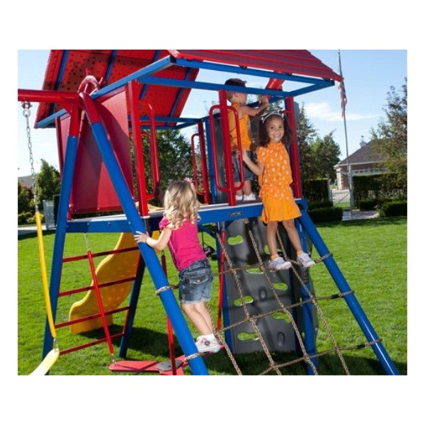 Lifetime Double Slide Deluxe Playset Primary Colors 90274