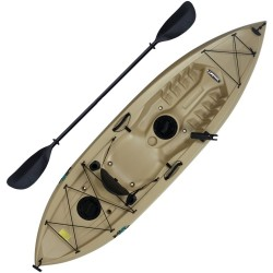 Lifetime Muskie 120 Sit-On-Top Angler Kayak w/ Paddle (90508)