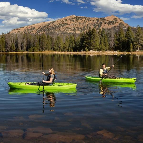 Lifetime 2 Pack Tioga 10 Ft Kayaks W Paddles Lime Green